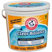 🔥 16 Arm And Hammer Clear Balance Swimming Pool Maintenance Tablets In Stock