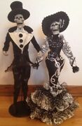 Katherine's Collection Halloween Diego And Rosario Day Of The Dead Skeletons-set