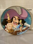 Disney Collection First Edition Peter Pan Collectors Plate- Revenge Of Tinkerb