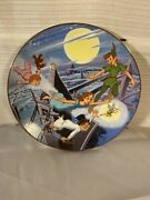Disney Collection First Edition Peter Pan Collectors Plate- Off To Neverland