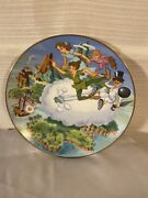 Disney Collection First Edition Peter Pan Collectors Plate-canons Roar