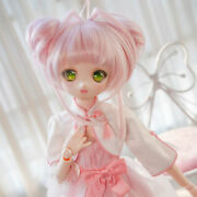 Cardcaptor Sakura Serenity Wig Hair Fit For 1/3 Bjd Doll Double Tails Cosplay