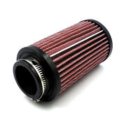 Motorcycle 42mm Universal Air Intake Filter Pod Filter Cleaner For Scooter Atv