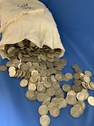 Roll Of 50 Unsearched/circulated Roosevelt Dimes - 90 Silver Pre 1965