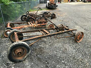 1930 31 Model A Ford Rolling Chassis With Steering, Brakes, Axles