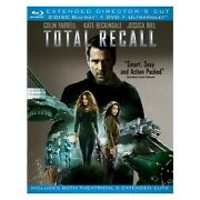 Sony Pictures Home Ent Br40972 Total Recall 2012/blu-ray/dvd Combo/3 Disc/ex...