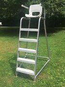 Spectrum Marshal Lifeguard Chair 6andrsquo Portable Lifeguard Stand