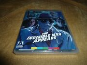The Invisible Man Appears / The Invisible Man Vs. The Human Fly [bd] Arrow Video