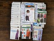 Sewing Pattern Lot 53 New Simplicity Mccalls Size 12-22 Ladies Ff Uncut No Dupes