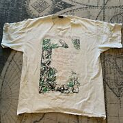 Vintage 90s The Tragically Hip Shirt Another Roadside Attraction Canadian Tour