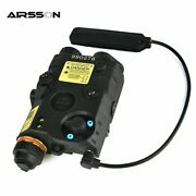 Battery Box Red Dot Laser With White Led Flashlight Night Vision
