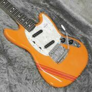 Fender Made In Japantraditional 60s Mustang Rw Competition Orange