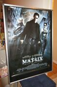 The Matrix Keannu Reeves Sonos Rolled Licensed Sided 27x40 Movie Poster 1999 B