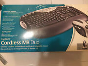 Logitech Cordless Mx Duo Desktop - Keyboard And Mouse Mac/pc Highly Rated