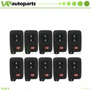 10 Keyless Entry Remote Fob For Toyota 4runner Prius V Venza Scion Tc Hyq14acx