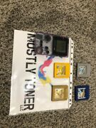 Nintendo Gameboy Color Pokemon Yellow, Blue, Gold, And Silver Version