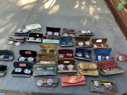 Antique Eyeglass X 30 Pairs Glass Vintage Spectacles Collectibles