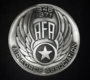 1946-1971 Air Force Association 5 Oz Ounce Sterling Silver Medal Round Coin Afa