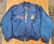 1950s 5th Air Force Korean War Reversible Bomber Jacket W/ Lighter And Provenance