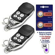 32pcs For Liftmaster / Chamberlain Garage Door Opener Remote Purple Learn Button
