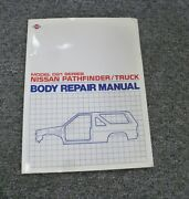 1991-1994 Nissan Pathfinder And Truck Body Shop Service Repair Manual 1992 1993