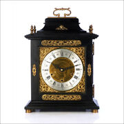 Antique British Mantel Clock With Westminster Quarters. London, 1920s-30s