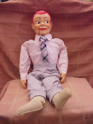 Vintage Paul Winchell's Jerry Mahoney 24 Ventriloquist Dummy Red Hair 50s-60s
