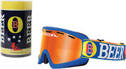 Beer Optics Goggles Cold Beer Red Mirror Fosty Offroad Ski Snowmobile Atv