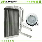 Blower Motor And Heater Core Kit Hvac For Dodge Ram 2500 3500 Front Replacement