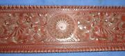 Antique Collectible Wall Hanging South Indian Nice Hand Carved Wooden Panel