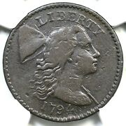 1794 S-47 R-4 Ngc Vf Details Head Of 94 Liberty Cap Large Cent Coin 1c