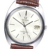 Omega Constellation Chronometer Date Cal564 Silver Dial Automatic Menand039s_614062