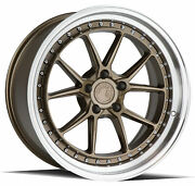 19x9.5/19x11 Aodhan Ds08 5x114.3 +22/22 Flow Forged Bronze Rims Set Of 4