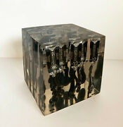 Arman - Painting Tubes Inclusion - Hand Signed Resin Sculpture