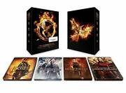 Hunger Games + Mockingjay Complete Collection Steelbook Set Blu R - Very Good
