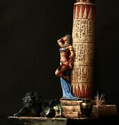 Tin Toy Soldier 54 Mm Superb Elite Painting In St.petersburg.egyptian Girl