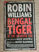 Bengal Tiger At The Baghdad Zoo Broadway Signed Poster Robin Williams + Cast