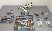 Lego 5969 5971 8399 8400 Lot Of 4 Complete Space Police Sets Manuals Minifigures