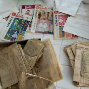 Vintage Lot Of Barbie Doll Sewing Patterns Tons
