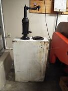 Vintage Bennett Lubester 1930and039s Oil Dispenser With Working Mechanical Counter
