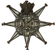 Pair Of Paul Ferrante Iron/glass Mirrored Sconces - Exceptional