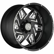 4-new 22 American Truxx Forged Atf1908 Orion Wheels 22x12 8x170 -44 Black Mille