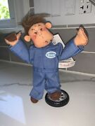 Annalee Grease Monkey Missing Wrench Made By Annalee 2002 Very Rare