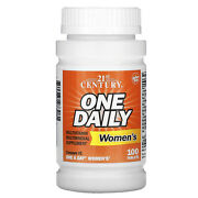 2 X 21st Century, One Daily, Women's, Total 100 Tablets