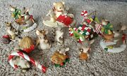 Charming Tails Lot Of 11 Snow Holiday Including 12 Days Of Christmas Wise Man