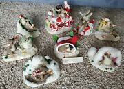 Charming Tails Lot Of 8 Snow Holiday Christmas Sugar Time Band Decorating Binky