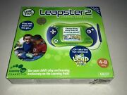 Leapfrog Leapster2 Learning Game System Green Brand New Sealed