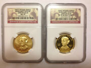 2009 Margaret Taylor Ngc Pf 70 And Ms 70 First Spouse 10 Gold Coins Low Pop