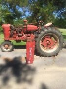 Farmall M 1948 Row Tractor 12v Conversion New Wiring Harnesses Serviceable