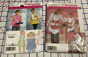 12 Sewing Patterns Apron-kitchen Appliance Covers-baby Accessories-purse-bag Lot